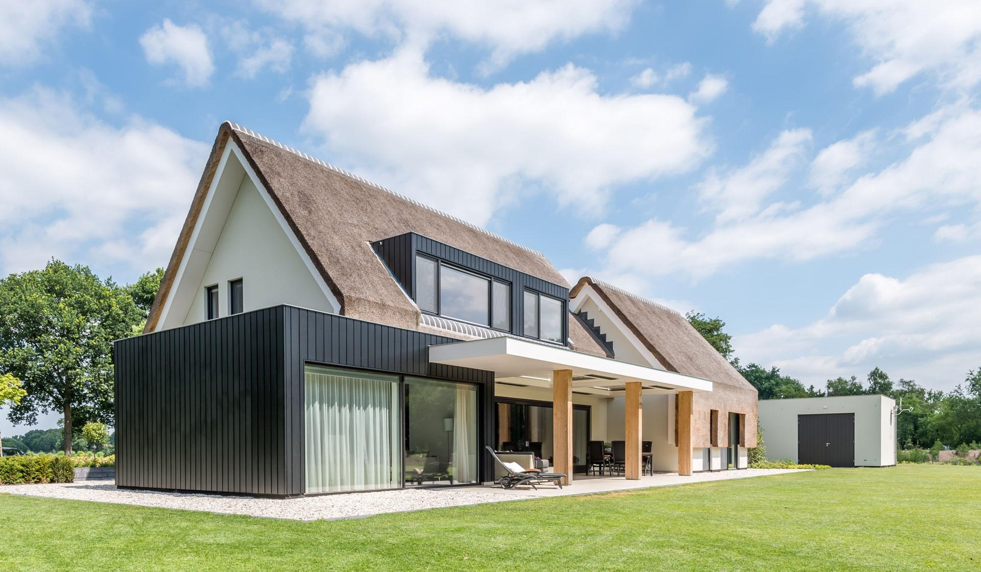 Modern met landelijke twist - Het Fundament Architectuur