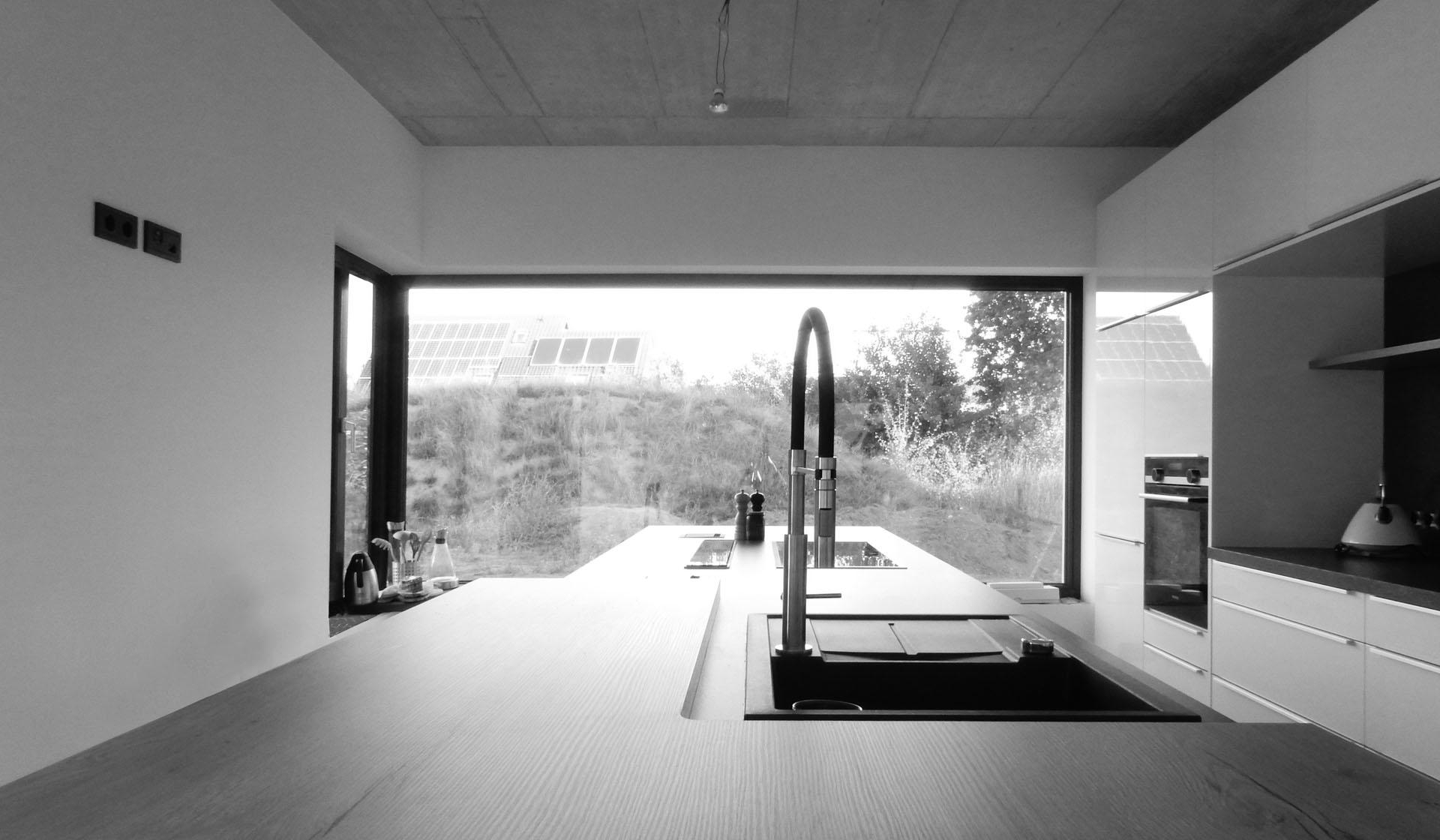 Aanzicht keuken