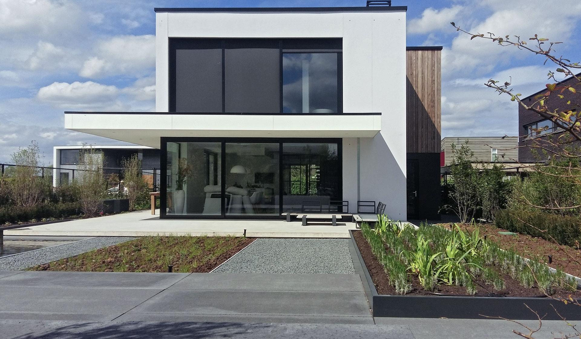 moderne woning Schuytgraaf Arnhem - Het Fundament Architectuur