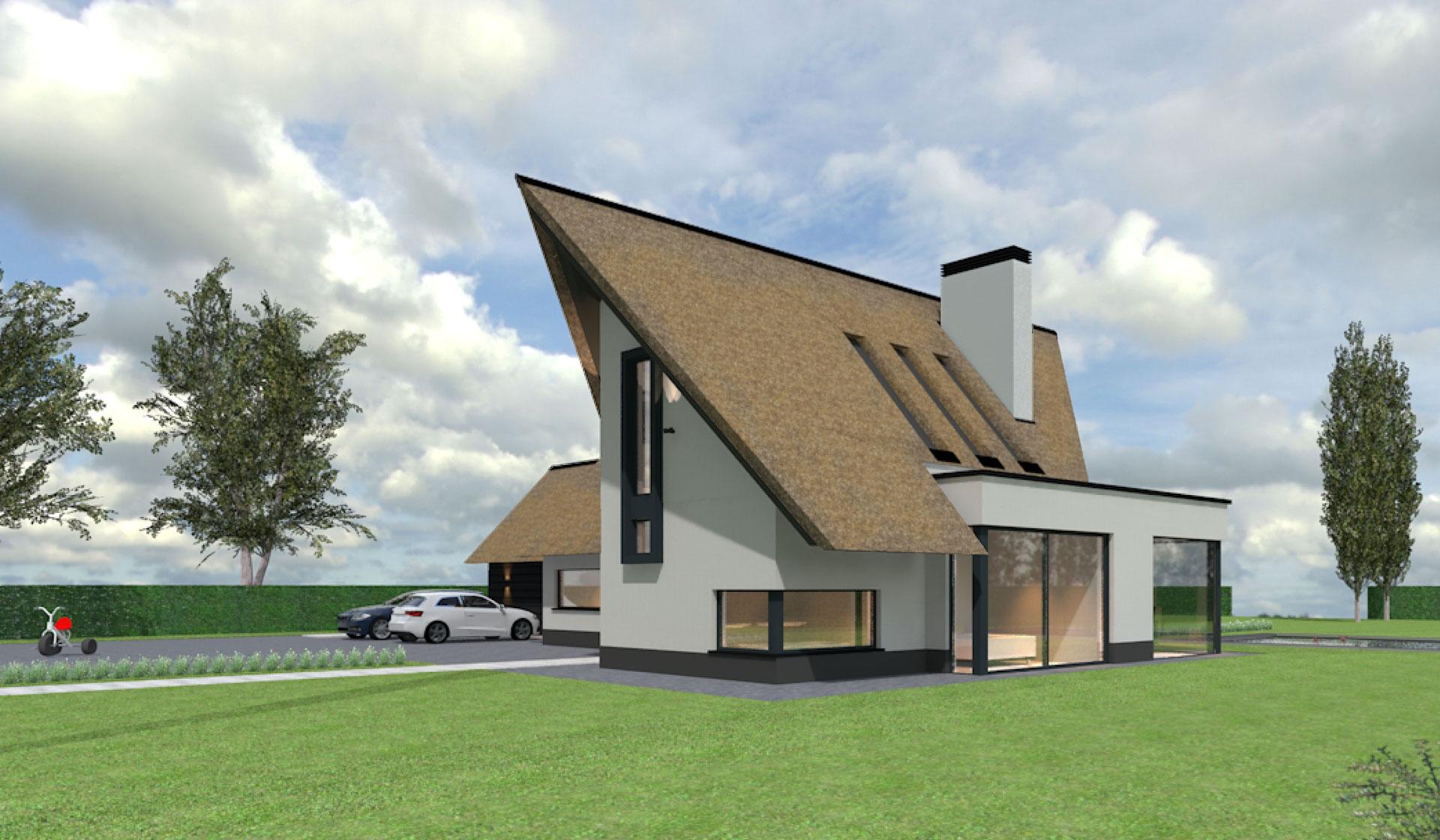 Modern Landelijke Woning Bredevoort - Het Fundament Architectuur