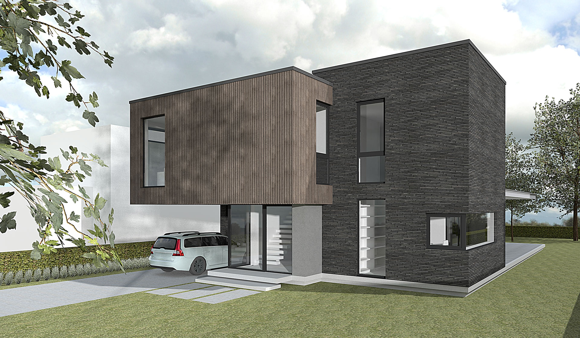 Nieuwbouw Arnhem - Het Fundament Architectuur