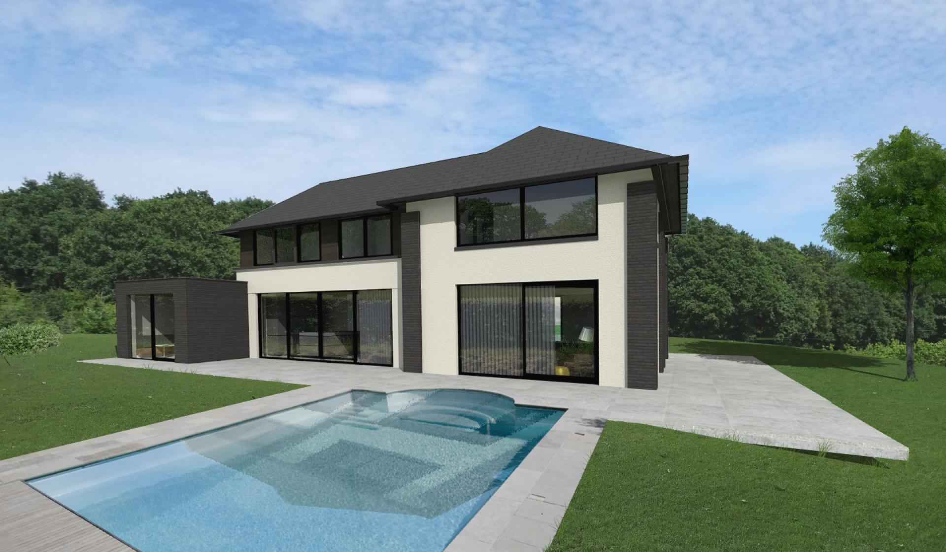 Eigentijds landhuis nabij Arnhem - Het Fundament Architectuur